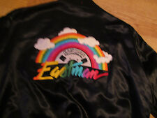 EASTMAN Professional Video Tape VINTAGE Rainbow Jacket Revelation Rag Medium