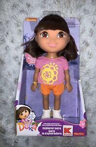 NEW!  Fisher Price Dora The Explorer Explorer Dora Figure Doll