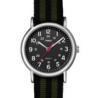 Orologio TIMEX  ref. ABT647 uomo solo tempo cinturino in tessuto nero e verde