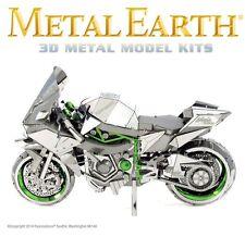 Fascinations Metal Earth ICONX Kawasaki Ninja H2R Motorcycle 3D Model Kit