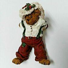 Boyds Bearstone - Nickelby Santabear. Dec. 26 - Style # 228418 - 1st Edition
