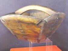 hübscher kleiner Holz Dekokorb Obstkorb Dekoration Korb Asiatika 1903-296