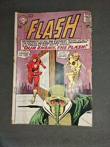 THE FLASH DC COMIC #147 Sept 1964 MR.ELEMENT REVERSE-FLASH