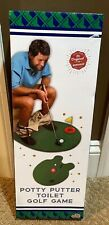 Syz 6306004 Toilet Golf Potty Time Putter Bathroom Game Great Father'S Day Gift