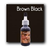 MICROBLADING CUSTOM COSMETIC COLOR 1/2oz Permanent Makeup Pigment BROWN BLACK