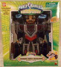 "Power Rangers Time Force 9"" Medium Size Shadow Force Megazord Bandai Bandai MISB"