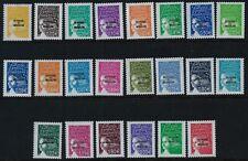 ST PIERRE & MIQUELON 2002-03 SG875-900 Marianne Overprint Set 23v Mint MNH