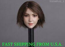 "1/6 Asian Female Head Sculpt B For 12"" Phicen TBLeague Female Figure ❶USA❶"