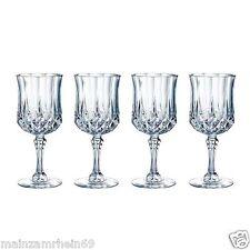 ⭐ON SALE!⭐Longchamps Cristal d'Arques Goblets Set of 4 New