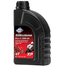Silkolene PRO 4 10w-40 XP Ester Fully Synthetic 4T Bike Engine Oil - 1 Litre