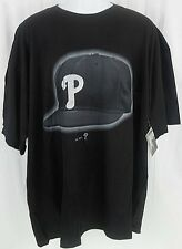 PHILADELPHIA PHILLIES MAJESTIC BASEBALL HAT BLING SHIRT