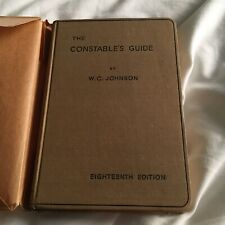 More details for the constable's guide: a concise manual - 1937 18th edition - rare - police duty