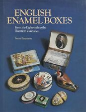 Antique 18th Century Enamel Ceramic Boxes – Trinket Snuff Cosmetic Etc. / Book