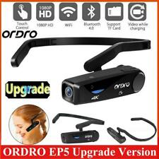 ORDRO EP5 Head Mount Mini Camcorder HD 1080P/30fps 2.4G WIFI Action Video Camera