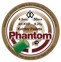 "Kvintor  ""Phantom ""  Shock & Awe pellets .177/4.50mm, 0,25g qty 50 free P&P"