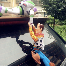 New Funny 3D Toy Story Sherif Buzz Help Woody Car Doll Outside Car Hanging Toy