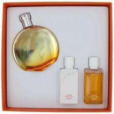 Eau des Merveilles Perfume by Hermes, 3 Piece Gift Set for Women NEW