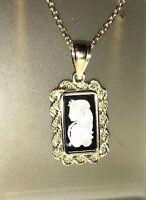 PLATINUM ~1~GR ~ LADY FORTUNA ~ PAMP SUISSE ~ 14~KT GOLD ROPE PENDANT ~ $152.88