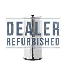 Big Berkey Water Filter w/ 2 Black Berkey Purifiers - Dealer Refurbished