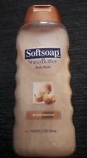 Softsoap Shea Butter Body Wash with Moisture Beads 24 fl oz RARE NEW