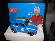 1/18 ACE PETER BROCK AUSTIN A30 RACE CAR #179 MID BLUE FULL SPOILER VERSION
