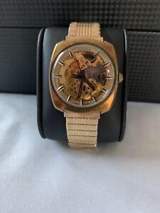 Vulcain Wrist Watch Vintage automatic Skeleton Men's