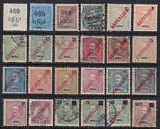 Angola 1902-1912 Classic Collection of 23 Different Stamps SCV $93.15