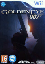 Goldeneye 007 James Bond (Nintendo Wii, 2010) Nueva Y Sellada PAL Reino Unido