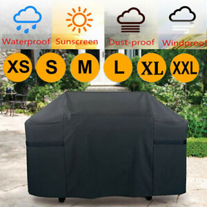 M-L-XL BBQ Cover Heavy Duty Waterproof Garden Barbeque Grill Rain Gas Protector