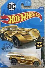 Hot Wheels  / DC Toy Car - Batman 3/5 - Gold Batmobile 9/250