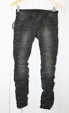 Place du Jour Vintage Jeans Hose Stretch Gr. 36 Schwarz NEU
