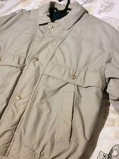 Baracuta Mens Retro Vintage Jacket Size Large Size 42 In Cream