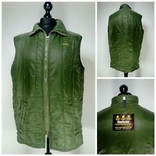 Mens Barbour Quilt Bodywarmer Gilet Jacket Size XL Sleeveless Collared