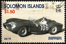1958 FERRARI 250 TR Testa Tossa Targa Florio #106 Sports Motor Racing Car Stamp