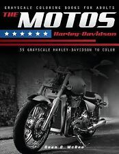 Motorcycle Lover Gifts: The Motos Harley : Harley Davidson Coloring Book by...
