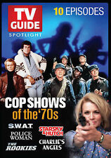 TV Guide Spotlight: Cop Shows of the '70s~New~10 Episodes~Titles in Description
