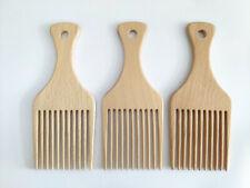 Customize Logo-Beech Wood Combs Wooden Hair Comb Beard Comb Fork Comb Pick Comb