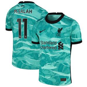 Liverpool Kid's Football Shirt Nike Away Shirt - M.Salah 11 - Blue - New