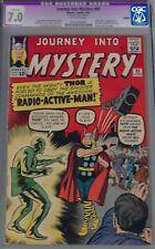 JOURNEY INTO MYSTERY #93-CGC(APPARENT)7.0-1963 IST RADIOACTIVE MAN