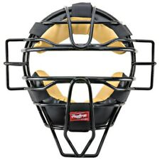 Rawlings Pwmx Solid Wire Adult Umpire Mask - Black (New) Lists @ $35