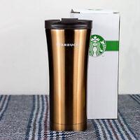 BNIB Starbucks Travel mug Vacuum Flasks Stainless Steel Thermos (Champagne)