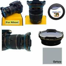 HD3 WIDE ANGLE MACRO LENS FOR Nikon AF-P NIKKOR 70-300mm f/4.5-5.6E ED VR Lens
