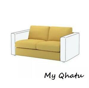 IKEA VIMLE Loveseat 2-Seat Sofa Section Cover Golden Yellow Mustard 403.510.53