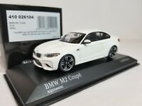 1:43 Minichamps BMW M2 Coupe F87 2016 M 2 Series F22 Twin Turbo I6 Alpine White