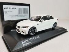 1:43 Minichamps BMW M2 Coupe F87 2016 M 2 Series F22 Twin Turbo I6 Alpine White