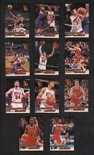 1993/94 FLEER ULTRA CHICAGO BULLS 1992/93 NBA CHAMPIONS MICHAEL JORDAN, PIPPEN