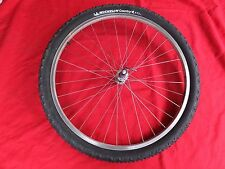 "CARBON HUB FRONT WHEEL 26"" WEINMANN RIM/V-BRAKE TIRE PACE RACE LITE NUKEPROOF XC"