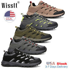 Mens Waterproof Trekking Trail Shoes Sneakers Outdoor Hiking Boots Camping Sizes