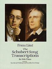 """The Schubert Song Transcriptions for Solo Piano/Series I: """"Ave Maria,"""" """"Erlkonig"""