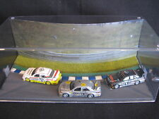 Small Visuals Mercedes-Benz DTM 1992 Diorama with 3 cars 1:64  type 2 (JS)